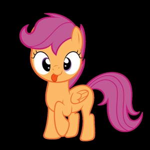 Mine is Scootaloo. She's just adorable, and her name is fun to say. SCOOTALOO! :D