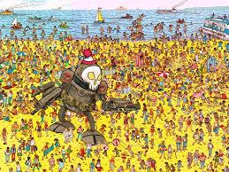 Where's Waldo? O_o