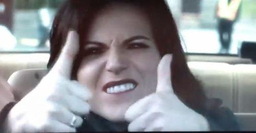 1. Gina 2. Gina 3. Gina 4. Gina 5. Gina 6. Gina Kidding, kidding...maybe. 1. Regina 2. Ruby 3. Cora 4. Archie 5. Emma 6. Henry