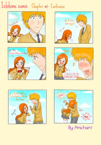 [b]Ichihime[/b] Comic :) ♥ Source-http://anichan7.deviantart.com/art/Ichihime-Comic-Chapter-1-Eng-280695549 Its so cute and a little funny ♥