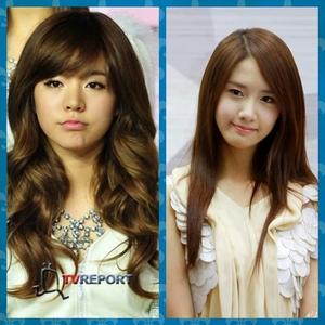 sunny and yoona :3