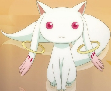 Well, I think Kyubey from Puella Magi Madoka Magica can fall into this category.