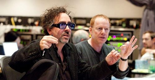 Tim burton & Danny Elfman They are so beautiful right now *fangirl swoon*
