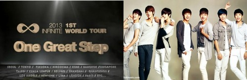 Spazing Out Because Of...........[i]INFINITE-ONE GREAT STEP~1st Tour http://www.youtube.com/watch?v=Bj4UnzRzQW8 (Oldest To Youngest) SungKyu,DongWoo,WooHyun,Hoya,SyungYeol,MyungSoo/L,SungJong (Not Left To Right From Pic!) [/i]