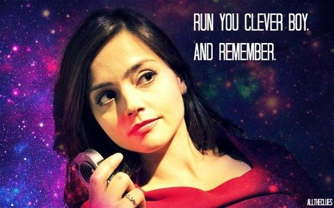 Clara Oswin Oswald, companion of the Doctor right now
