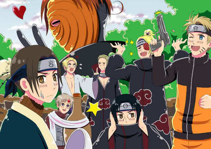 A Hetalia Axis Powers - Incapacitalia and Naruto crossover