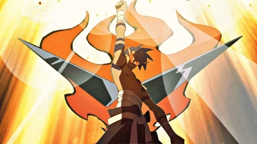 Kamina's death from Gurren Lagann took me da surprise.
