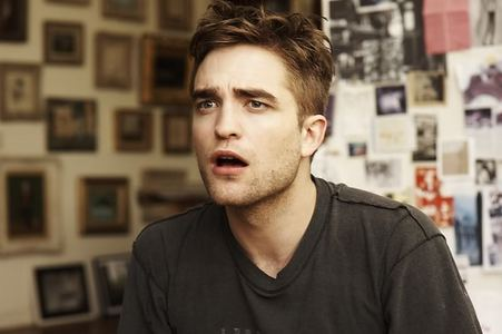 my handsome Robert with a shocked look on his gorgeous face<3