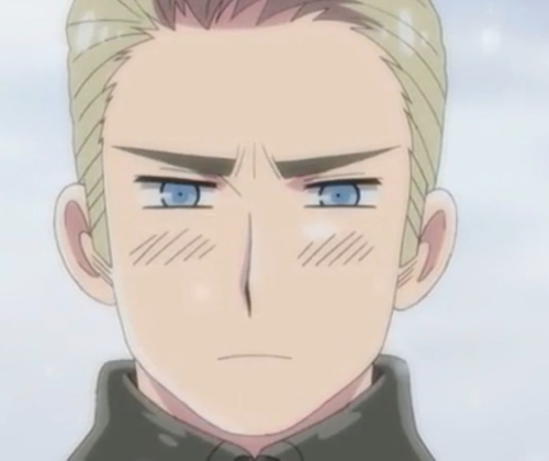 Germany and Sweden from Hetalia...