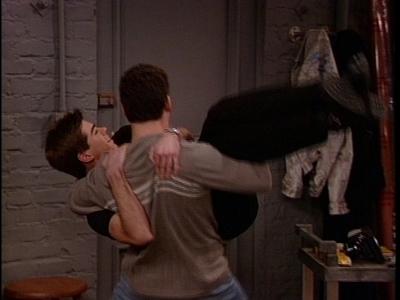 Ben Savage holding Matthew!!! MDR