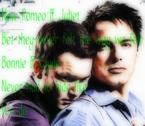Captain Jack and Ianto Jones!