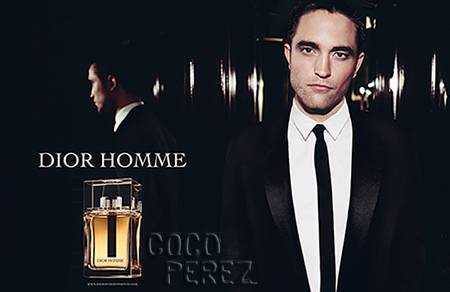 my handsome Robert from his Dior Homme ad<3