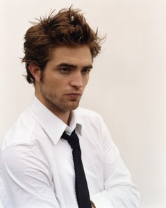 my sexy Robert wearing a tie<3