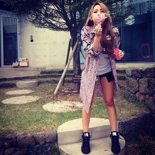 CL Blowing Bubbles . Nope .