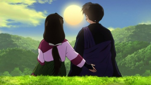 Kagura and Sesshomaru hands down ;P And of course Sango and Miroku XD