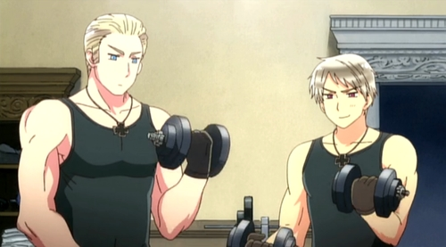 Post Muscular/muscled-bound Characters