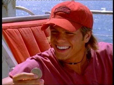 Matthew wearing a hat. :)
