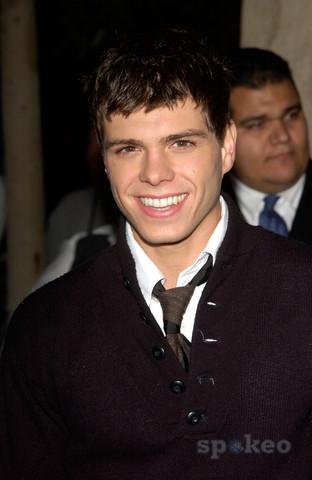 Matthew with a tie under his jumper shirt. :)