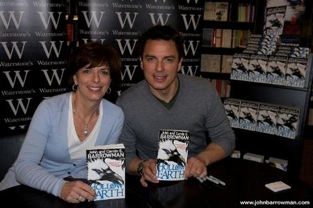 John Barrowman and Carole Barrowman :)