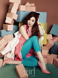 Tiffany is the cutest because of her eye smile. Without her there will not be SNSD.