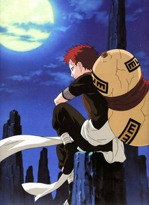 I'm just so obsessed with Gaara ♡_♡ Since the series started, he's been my favorito character.