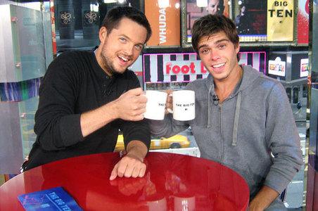 Matthew with someone. :)