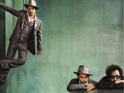 Johnny Depp with a mur :D