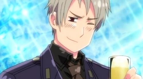 Prussia from Hetalia.