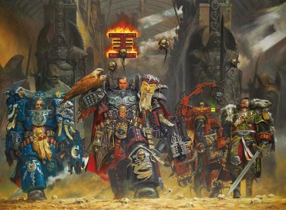 Warhammer 40K, it has so much lore that anda could make hundreds of film just on one race.