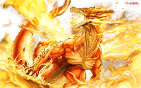 an epic dragon pic that i drawn i while ago, its so real that it look like nobody drawn this epic pic but i did