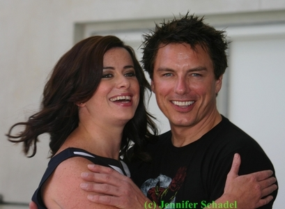 John Barrowman + Eve Myles!
