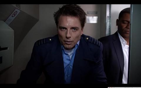 Sick Captain Jack Harkness!
