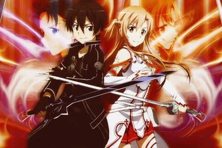 Asuna Yuuki and Kazuto Kirigaya (Sword Art Online)