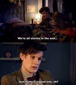 The Doctor moody, even that he's so sweet