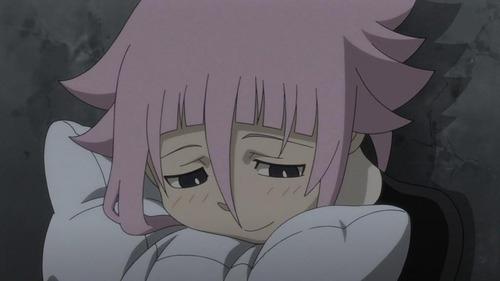 Crona from Soul Eater. Seriously, he/she REALLY needs a hug!
