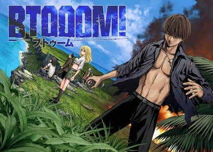 "Btooom! is awesome. I watched about half of it, with plans to watch the rest some araw (I tend to stop watching ""serious"" anime after a while even if I like them)."