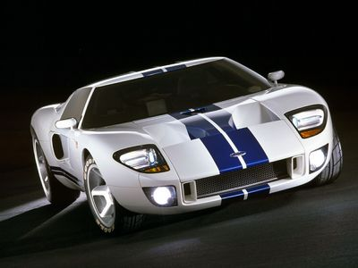 A Ford GT.
