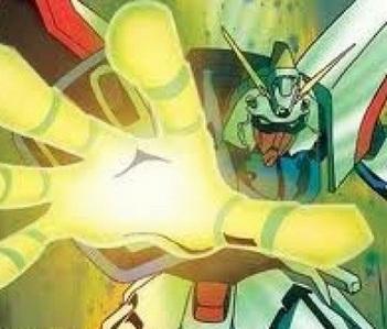 My paborito Gundam series is Gundam G!-and my paborito Gundam is Shining Gundam.