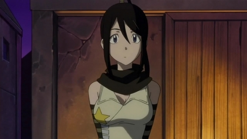 Gosh, I feel like a creep just pondering this question. But I have concluded I would like it to be a girl like Tsubaki from Soul Eater. Preferably when she's a little older to reduce the creepiness of it all.
