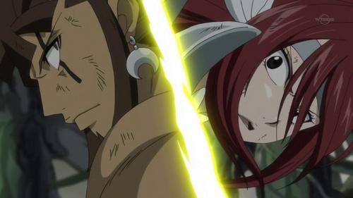 Ezra vs Azuma (Fairy Tail)