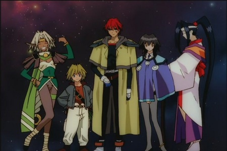 I'm a little surprised no one has put up Outlaw 星, 星级 yet. This was the 显示 that got me into anime, and it was even on Toonami for a little while.