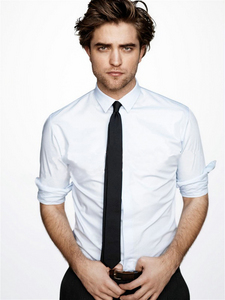 my yummylicious Robert wearing a シャツ and tie<3