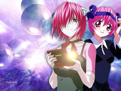 Lucy from Elfin Lied, oh and Nana