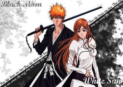 I choose Orihime because i really like her and Rukia should not be a part of this because she holds no romantic feelings for ichigo - that should be clear