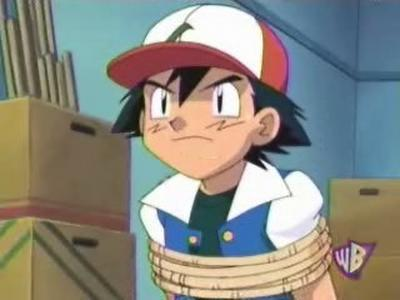 Ash Ketchum from Pokemon :P