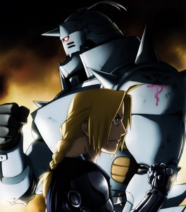Fullmetal Alchemist: Brotherhood. No matter how much I pag-ibig other animes, none of them ever passes FMA:B. Nothing, NOTHING can replace it for me...