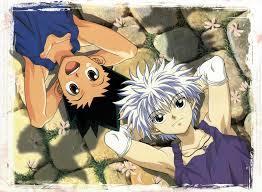Gon and Killua from hunter x hunter!!! XD