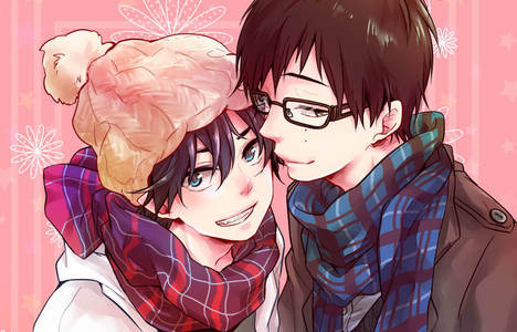 Ao No Exorcist :) The main characters are brothers <333