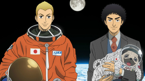 I've never watched it, but if you don't mind trying a story about adult brothers with an astronaut theme, you can try o espaço Brothers.