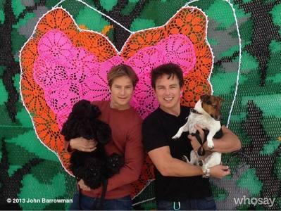 John Barrowman and Scott Gill<3